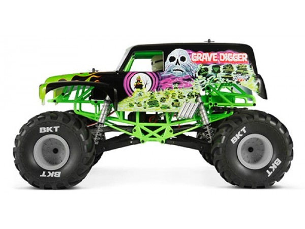 Axial SMT10 Grave Digger 1/10 4WD RTR Monster Jam Truck # ...